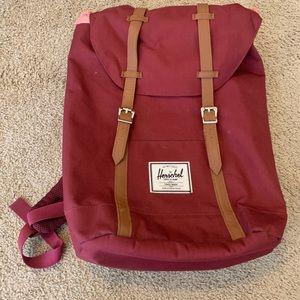Herschel Supply Co. Maroon Backpack